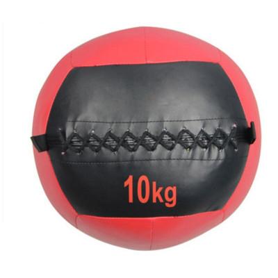 因樂思(YINLESI)藥球 PU墻球壁球 非彈力實心球軟式藥球私教爆發力不穩定平衡訓練重力球