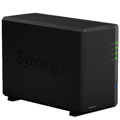 群晖(Synology) DS218 play 四核 2盘位 NAS网络存储服务器 (无内置硬盘 )