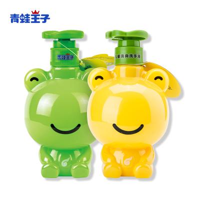 青蛙王子兒童寶寶洗手液 天然蘆薈無磷配方 檸檬+蘆薈320ml兩瓶 便攜泡沫溫和抑菌寶寶小孩洗手液