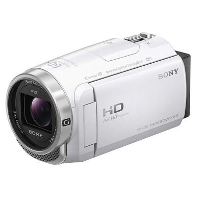 索尼(SONY) HDR-CX680 白色 配件套裝 高清數碼攝像機 約229萬像素 3英寸屏幕