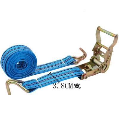 阿斯卡利(ASCARI)双钩货物捆绑带拉紧器紧固带收紧带捆绑器汽车收紧器货车紧绳器 3.8CM宽整套6米