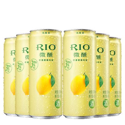 銳澳(RIO)洋酒 雞尾酒 預調酒 檸檬味330ml*6