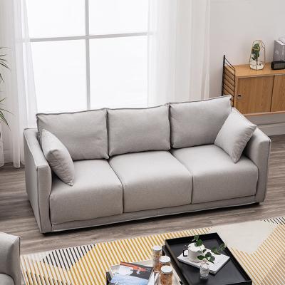 花千紫北歐現代簡約沙發小戶型布藝客廳店鋪咖啡雙人三人小公寓網紅沙發