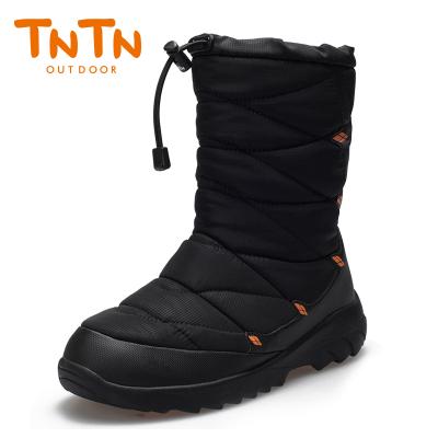 TNTN户外冬季东北防水俄罗斯乡加厚羊毛加绒3M新雪丽雪地保暖绒男女士棉鞋靴子