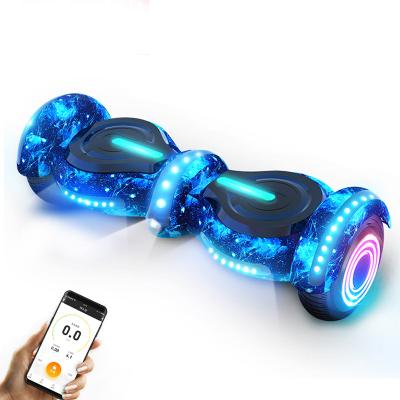 阿尔郎(AERLANG)智能平衡车儿童双轮电动体感思维扭扭车 N5-B 蓝星空