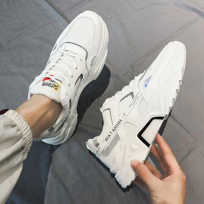 馨洋都 小白鞋男鞋子2020春季新款韓版潮流百搭白色板鞋男士休閑運動鞋男