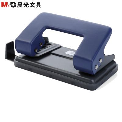 晨光(M&G)雙孔打孔機 可打20張A4紙 二孔打孔器打洞器 手動省力打孔機 顏色隨機 打孔機