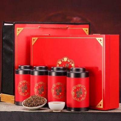 武夷山金駿眉茶葉紅茶特級正山小種濃香型禮盒裝-正山小種500g