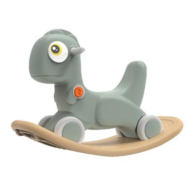 樂的兒童搖馬周歲禮物學步車兩用搖搖馬嬰兒二合一安全搖椅