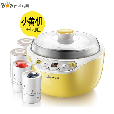 小熊(Bear)SNJ-B10K1酸奶機家用全自動不銹鋼內膽陶瓷分杯米酒機