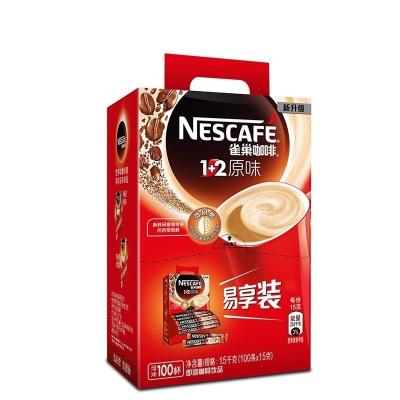 雀巢咖啡 1+2原味 1.5kg (100条x15g)*2