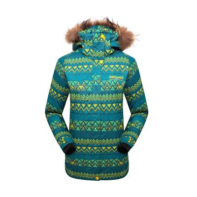 诺诗兰(NORTHLAND)滑雪衣户外秋冬女式运动休闲防风保暖透气耐磨徒步滑板服外套GK032710