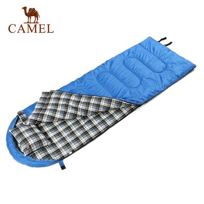 駱駝戶外睡袋2KG旅行露營成人睡袋信封保暖睡袋