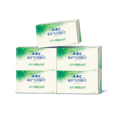 ABC私处卫生湿巾 澳洲茶树清爽温和护理湿纸巾18片*5盒R03