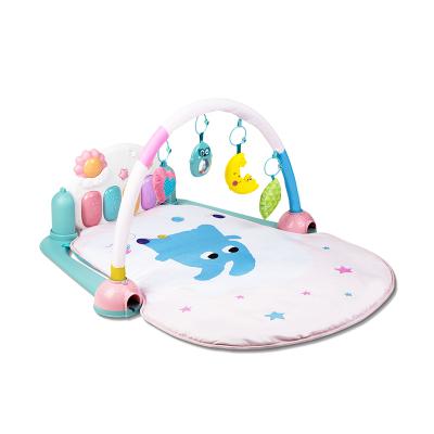 火火兔升級款嬰兒腳踏鋼琴寶寶健身架器0-1歲兒童益智玩具男孩女孩長型