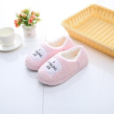 孕妇月子鞋棉拖鞋春秋冬季包跟家居室内拖鞋防滑软底轻便无声
