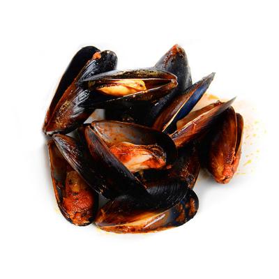 蓝雪 熟冻智利紫贻贝(番茄味) 450g 25-45只 盒装 海鲜水产
