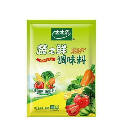太太樂蔬之鮮調味料400g素食炒蔬菜調料品代替味精雞精