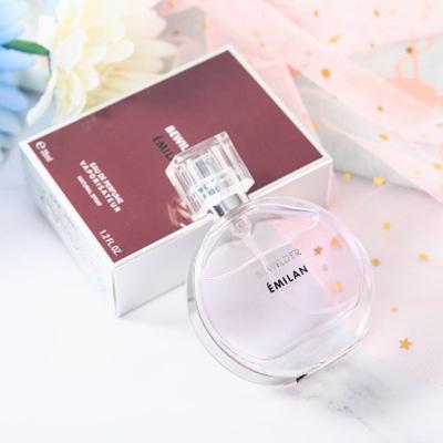粉色女士香水35ml清新自然持久淡香香水 主題聚惠