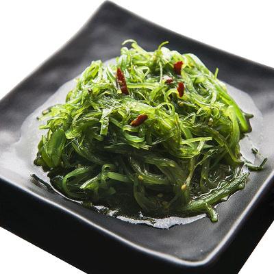 【鲜有汇聚】 即食裙带菜500g 海藻沙拉丝寿司料理海带丝 酸甜海白菜