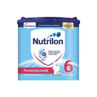 Nutrilon 荷蘭牛欄 諾優能 嬰幼兒奶粉 6段 3歲以上 400g/罐 紙桶裝 21年11月