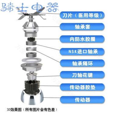 【蘇寧優品】華之魅FX-A8-2.5L纖佳樂現冰沙機漿機刀俎刀片破壁料理機刀頭配件
