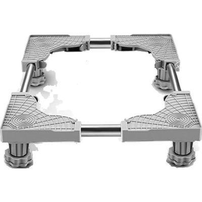 蘇寧放心購通用洗衣機底座托架小天鵝海爾滾筒移動萬向輪墊高置物腳架子簡約新款