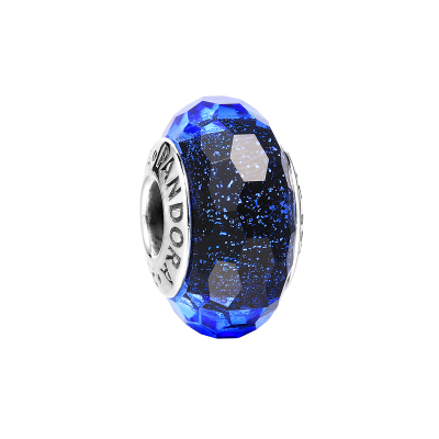 PANDORA潘多拉 手链925银时尚蓝色系串珠