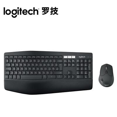 【羅技旗艦店】羅技(Logitech)MK850無線鍵鼠套裝 辦公鼠標鍵盤 高效能多設備無線鍵鼠套裝
