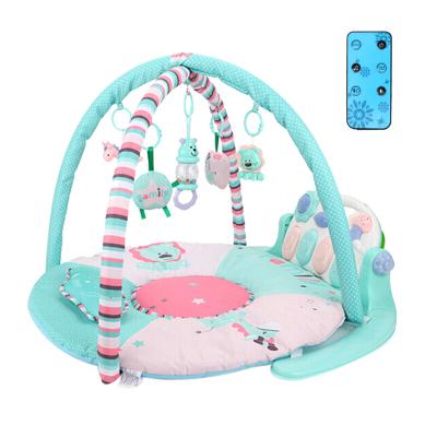 貝恩施 新生嬰兒益智玩具 0-1歲 嬰幼兒玩具 多功能豪華版腳踏鋼琴健身架