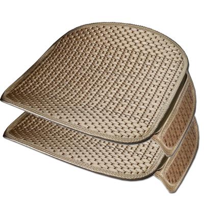 費凱丹 冰絲透氣汽車座墊護腰墊腰靠背墊 車用辦公室座椅護腰墊透氣坐墊