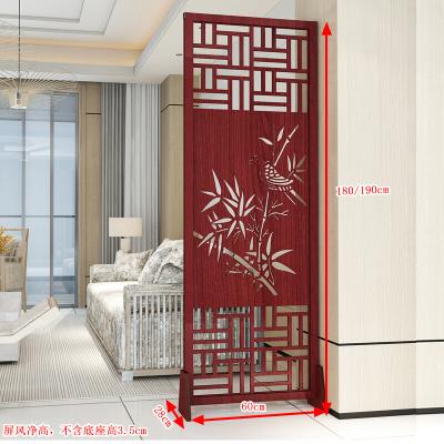實木屏風隔斷客廳簡易玄關柜裝飾折疊移動創意臥室遮擋家用小戶型鏤空玄關