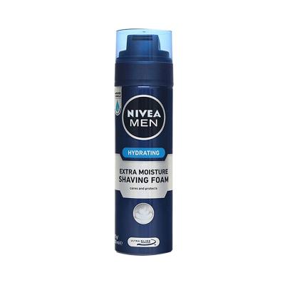 妮維雅(NIVEA)男士刮胡泡200ml 各種膚質 剃須潔面(新老包裝隨機發)
