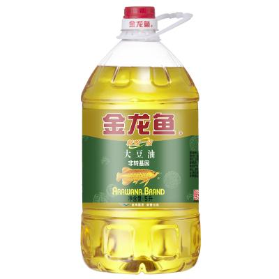 金龙鱼 非转基因精炼一级大豆油5L 食用油 优质大豆油