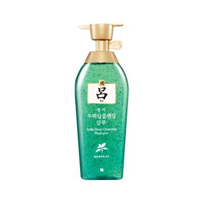 【控油去屑】Ryo绿吕深层洁净头皮去屑洗发水 控油清洁500ml所有发质成人韩国原装进口