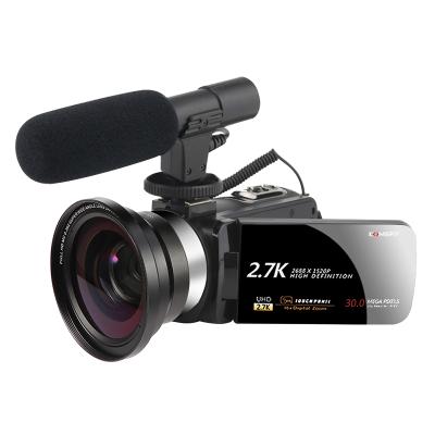 2.7K高清家用旅行數碼攝像機自拍美顏直播拍短視頻照相機攝錄攝影錄像機DV