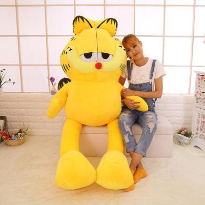 2020新款ST-长腿加菲猫公仔玩偶巨超大号毛绒玩具儿童女生生日礼物陪睡抱枕布娃娃