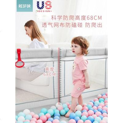 绿色【内径尺寸180X200CM】+垫子婴儿游戏围栏儿童室内爬爬行垫防护栏家用安全小孩学步玩具乐园地