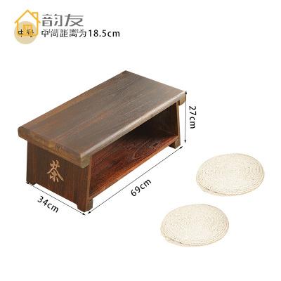 榻榻米桌子茶桌实木可折叠炕几家用阳台飘窗小茶几小矮桌简约