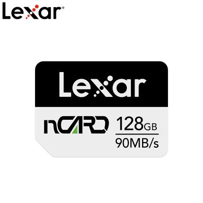 雷克沙(Lexar)nCARD 128G 華為授權 華為手機 華為平板 擴展內存卡 4K NM儲存卡 Nano SIM