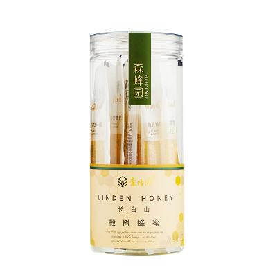 森蜂园长白山椴树蜂蜜225g(15gx15条) 冲饮 天然椴树蜜滋补蜂蜜农家自产土取蜂巢蜜蜂 条状独立包装
