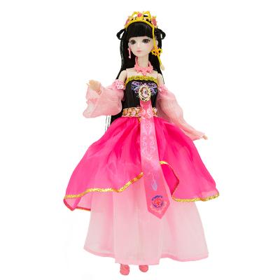 葉羅麗娃娃女孩兒童玩具夜蘿莉仙子DIY仿真洋娃娃精靈夢卡通套裝禮盒改裝換裝玩具 葉羅麗仙子29CM