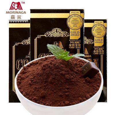 【純可可粉3盒】森永日本進口純可可粉110g*3盒沖飲烘焙原料可可粉