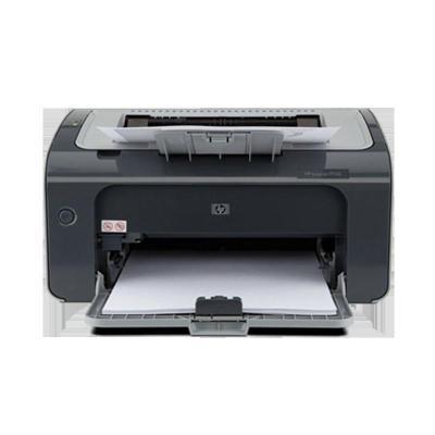 惠普(HP) LaserJet Pro P1106 黑白小型辦公單功能激光打印機(打印)