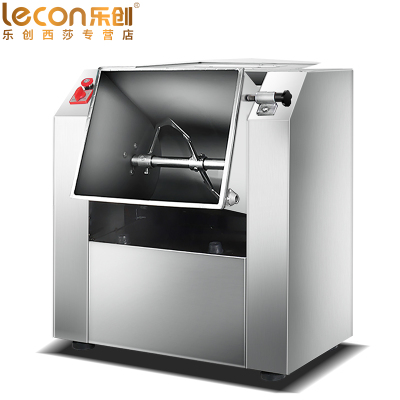 樂創(lecon) 7.5公斤精裝版和面機商用 鮮奶機 家用廚師機多功能揉面機 全自動攪拌機 打面機