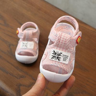 宝宝包头鞋 小童软底防滑学步鞋男女童夏季凉鞋婴儿透气鞋子0-3岁