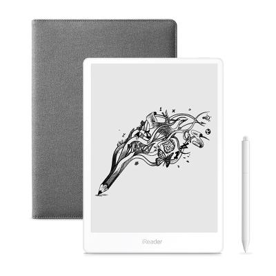 【套裝】掌閱iReader Smart 超級智能本 10.3英寸 32G 電紙書閱讀器 電子書 白色+折疊保護套 灰