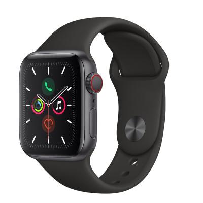 Apple Watch Series5 44mm(GPS+蜂窝款 深空灰色铝金属表壳 黑色运动型表带)