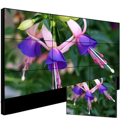 悅華科技 三星55寸液晶拼接屏拼縫5.3MM安防監控細窄邊框拼接顯示屏