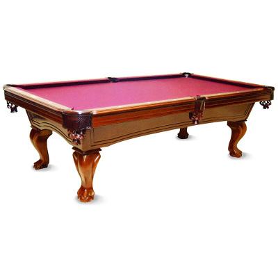 健倫(JEEANLEAN)原實木雕刻臺球桌標準型定制美式黑八成人花式九球家用室內別墅歐式桌球臺
